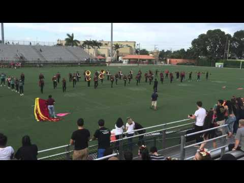Barbara Goleman Senior High School Band Halftime Show