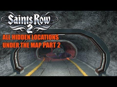 Saints Row 2 All Hidden Locations Under the Map Part 2