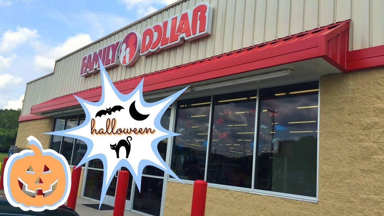 *LIVE* FAMILY DOLLAR SHOP WITH ME | HALLOWEEN & NEW HOME ...