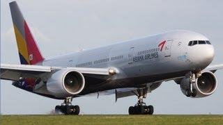 【航空事故の瞬間12】アシアナ航空214便 着陸失敗事故 ATC交信音声記録 2013年7月6日 (飛行機事故/air crash) Boeing 777