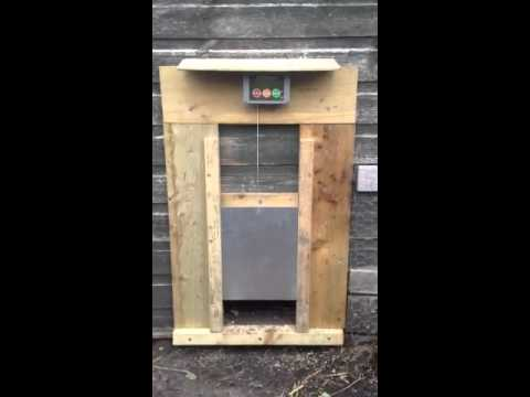 Chicken Guard Automatic Door Pop Hole Opener Youtube