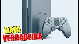 SONY DIZ DATA VERDADEIRA DO PS5