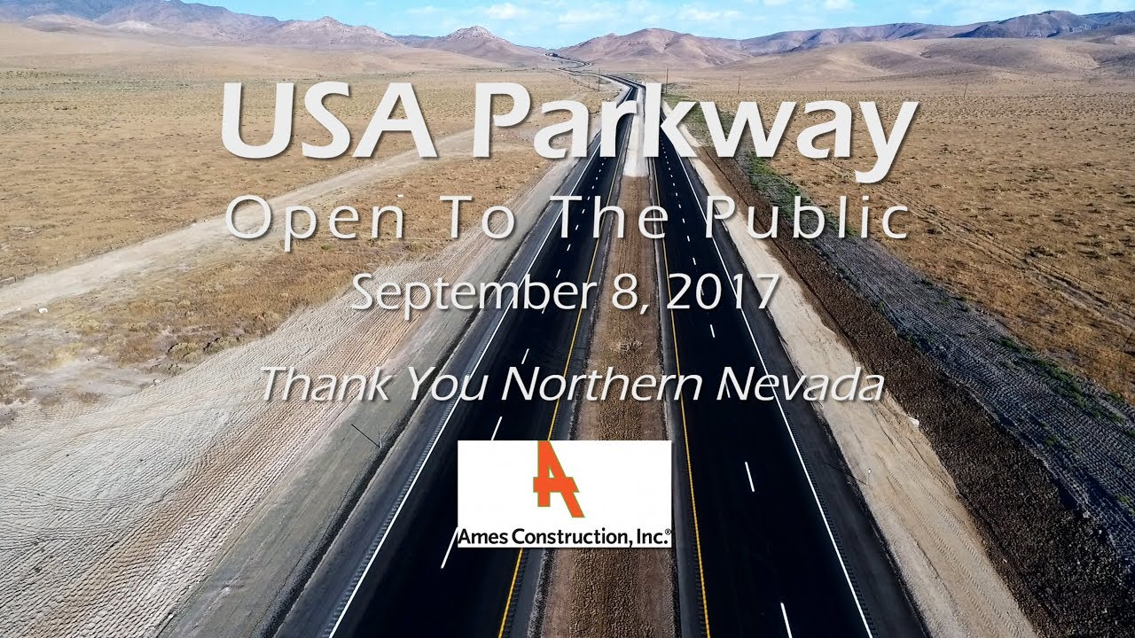 usa parkway freeway completed construction ames construction