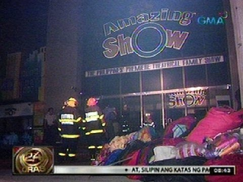 24 Oras: Sunog sa dating Manila Film Center, posibleng dahil sa problema sa electrical wiring