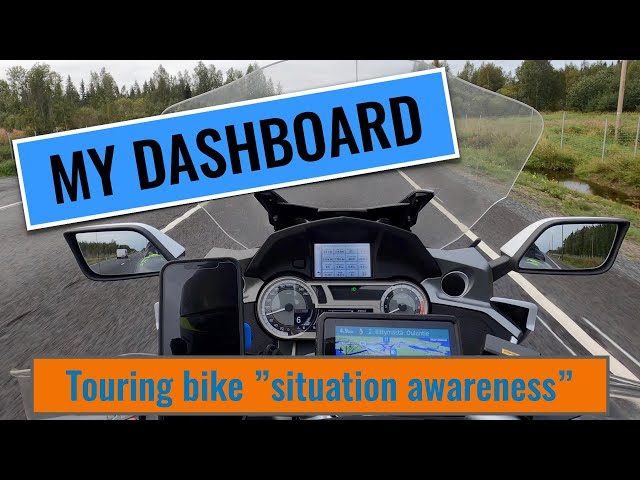 Motorcycle Dashboard Technology That Will Make Your Ride Easier in 2021