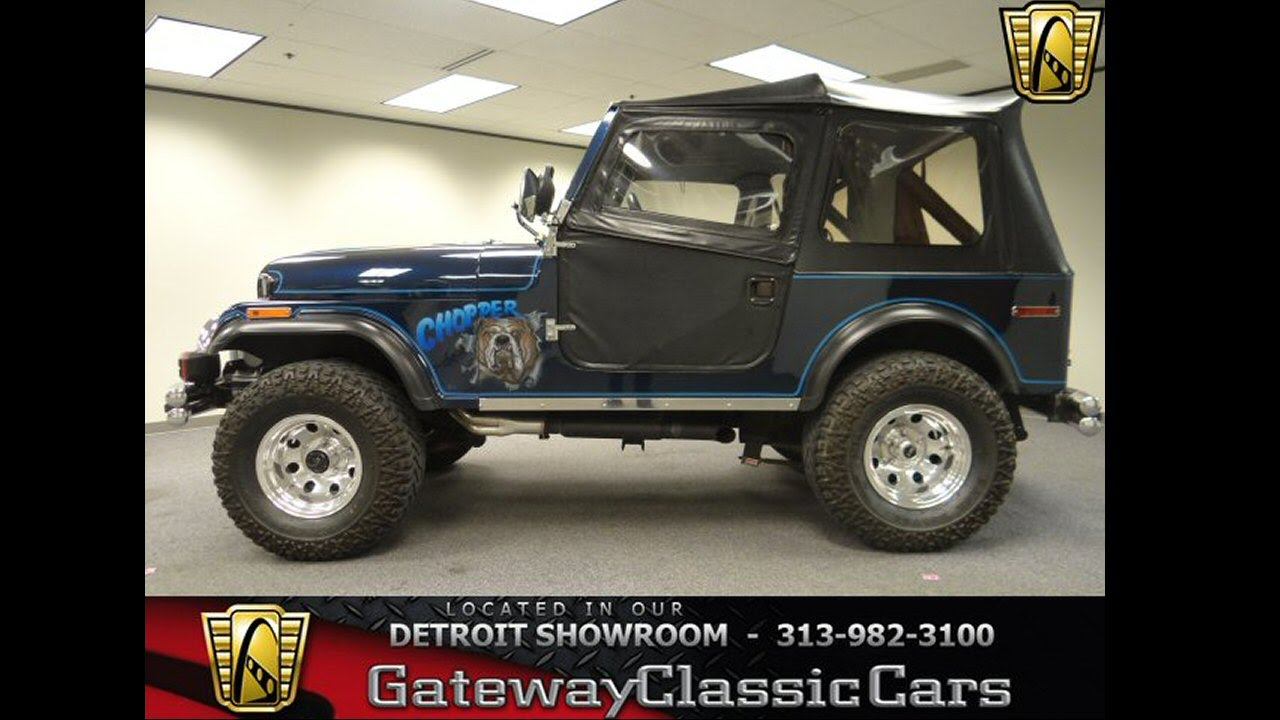 small resolution of  205 det 1976 jeep cj 7 youtube