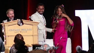 SHANE MOLSEY PROPOSES TO GIRLFRIEND AFTER BEING INDUCTED INTO THE 2018 NEVADA BOXING HALL OF FAME