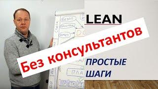 Бережливое производство без консультантов. Lean. 100 эффективное начало. Урок 1. База.