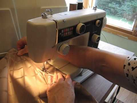 How To Thread A Vintage Nelco Sewing Machine