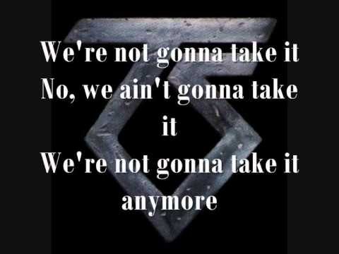 were not gonna take it lyrics