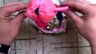 Ободок и резиночки для девочек с алиэкспресс