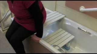 How To Use A Bath Board And Seat (hd)