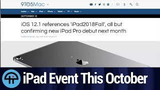 New iPad Pro Coming in October