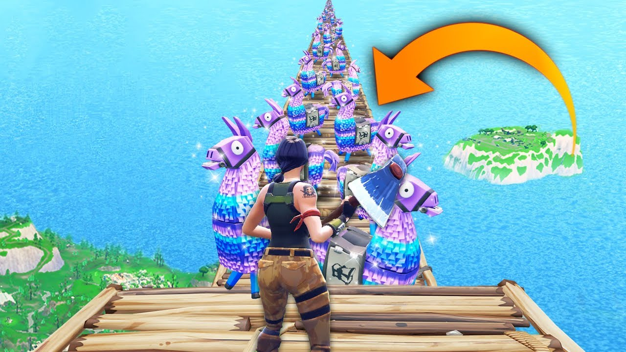 Infinity loot llamas fortnite funny and best moments fortnite battle royale youtube - Fortnite llama background ...