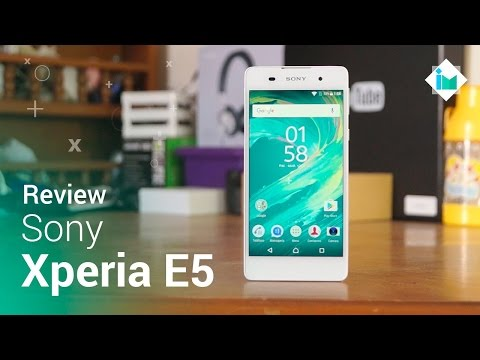 Sony Xperia E5 - Review en español
