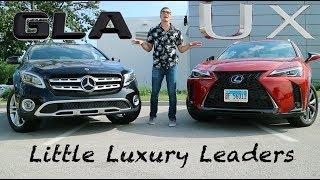 2019 Lexus UX vs Mercedes GLA - Little Luxury Leaders