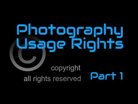 How I deal with usage rights for commercial photography as a photographer and business owner