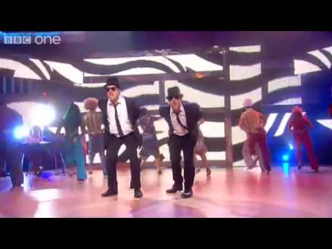 Dick & Dom perform Shake Your Tailfeather - Let's Dance for Comic Relief Final - BBC One