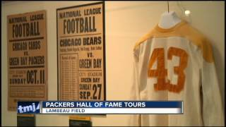 Packers Hall of Fame guided tours begin Tuesday