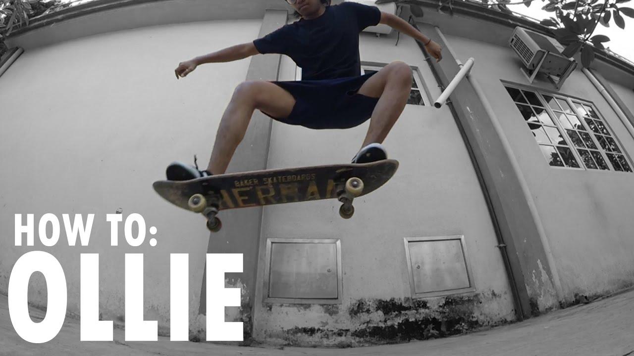 How To: Ollie With Hilman Azraei