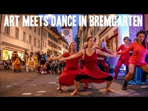 """5Rhythms Dance Event """"Art Meets Dance"""" in Bremgarten Switzerland with Monika Ortner"""