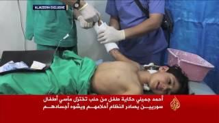 أحمد جميلي.. حكاية تختزل مآسي أطفال سوريين