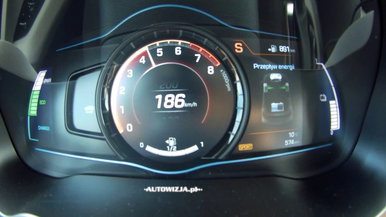 Hyundai Ioniq Hybrid Acceleration 0 100 Km H Top Sd Racelogic