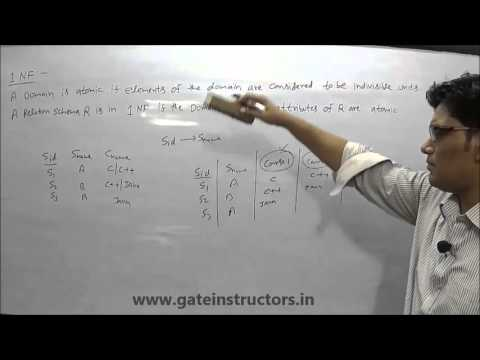 First Normal Form | Database Management System DBMS Tutorial | 1NF, 2NF, 3NF, BCNF Example | 51