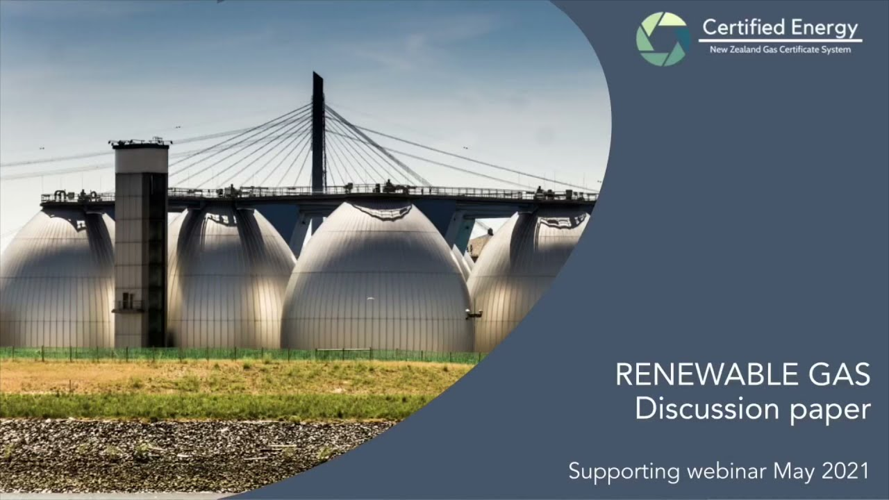 Renewable gas consultation webinars
