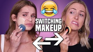 "MAKEUP BAG SWAP w/ SYLVIA GANI || YouTube ""Tea"", Stress, Worst Makeup & MORE"