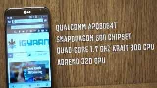 LG Optimus G Pro E985 / E988 Hardware and Benchmarks - iGyaan