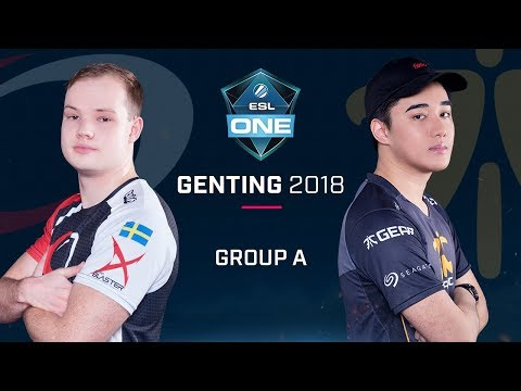 Dota2 - compLexity vs. Fnatic - Group A Opening Game - ESL One Genting 2018