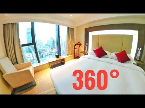 360 VR video Novotel Hotel Nanjing Central Suning China [Google Cardboard, Oculus Rift]