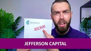 Jefferson Capital International debt letter? Here's what to do!
