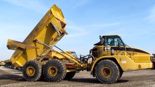 CAT 740 6X6 Articulated End Dump Truck w/EROPS