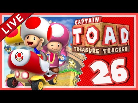 CAPTAIN TOAD: TREASURE TRACKER #26: Alle Zeitvorgaben in Episode 3! [1080p] ★ Let's Play