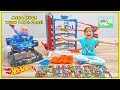 140+ Toy Cars & Kid Magic to Open Mega Huge Hot Wheels Super Ultimate Garage | Kids Toy Review