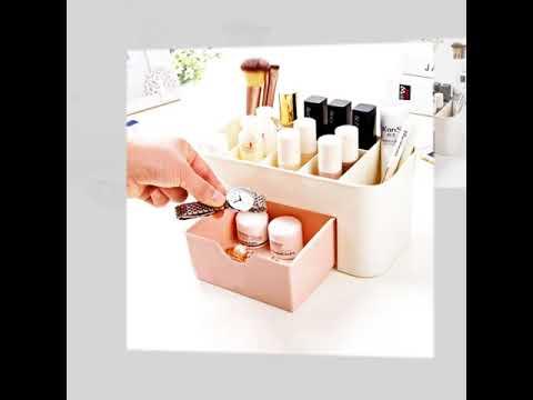 Boite de rangement pour cosmétique, bijoux ou autres accessoires : NOUVEAU design !