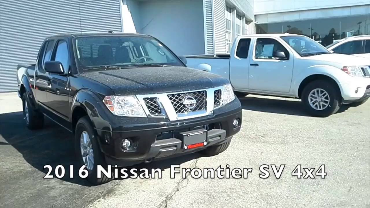 2016 Nissan Frontier Comparison Crew Cab Vs King Cab Youtube