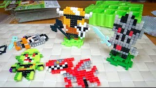 Квикселс Королевство - Рыцари - Qixels Kingdoom - Набор для творчества - Пиксельные игрушки Квиксели