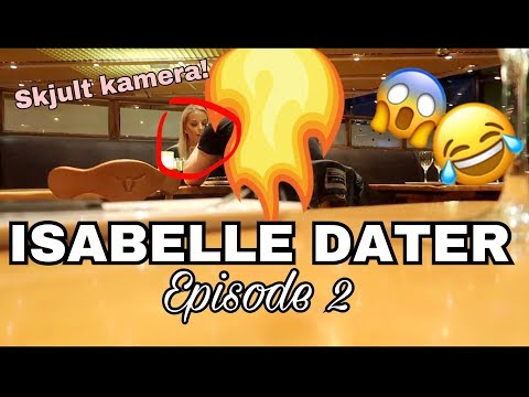 Spionerer på Isabelle på date - SKJULT KAMERA // ISABELLE DATER EP. 2