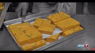 Thanjavur  Special - Sweet Soan Papdi & Spicy Vazhaipoo urundai | Sutralam Suvaikalam | News7