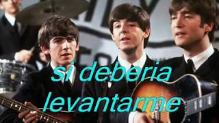 "The Beatles-""I 'm so tired ""  Subtitulo en español (By Orion)"