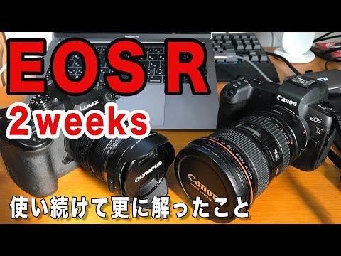 【カメラ】EOS Rを使って2週間!解った事をさらにお話していくよ!