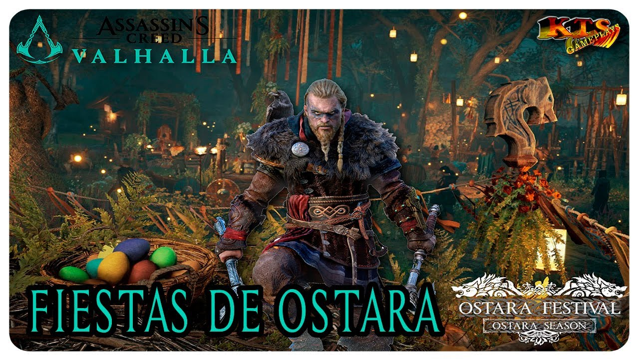ASSASSIN´S CREED VALHALLA. | #228: FIESTAS DE OSTARA. [EVENTO FESTIVO]