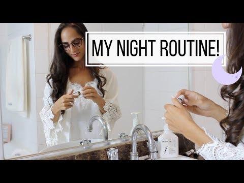 MY NIGHT ROUTINE 2018