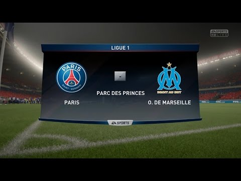 Paris SG - Olympique Marseille [FIFA 17] | Ligue 1 2016-2017 (10ème Journée) | CPU Vs CPU
