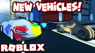BUYING EVERY NEW VEHICLE IN THE WINTER UPDATE!!! (Roblox Jailbreak)