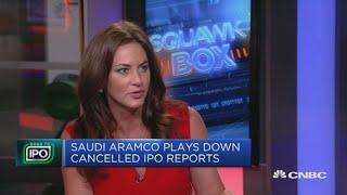 Saudi Arabia denies reports it's scrapping Aramco IPO | Squawk Box Europe