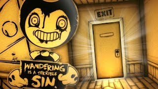 LEAVING THE STUDIO! | NEW Bendy And The Ink Machine Chapter 1, 2 And 3 Secrets